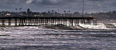 Photograph - Ventura Pier 1 by Michael Gordon