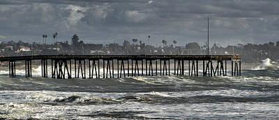 Photograph - Ventura Pier 2 by Michael Gordon