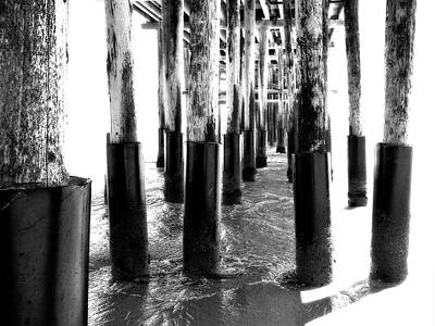 Photograph - Ventura Pier In Black And Light by Glenn McCarthy Art and Photography