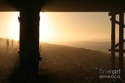 Photograph - Ventura Pier Sunrise by Henrik Lehnerer