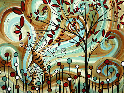 Venturing Out By Madart Art Print by Megan Duncanson