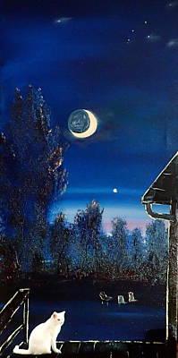 Back Porch Painting - Venus       105 by Cheryl Nancy Ann Gordon