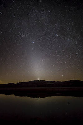 Photograph - Venus And Zodiacal Light by Scott Bean