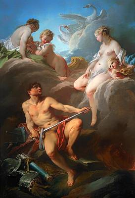 Aeneas Painting - Venus Asking For Arms For Aeneas by Mountain Dreams