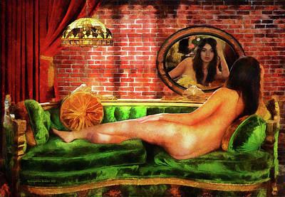 Photograph - Venus At Her Mirror by Aleksander Rotner