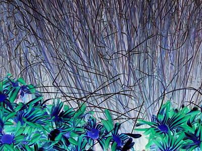 Photograph - Venus Blue Botanical by Karen J Shine