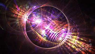 Chakra Rainbow Digital Art - Venus Celestial by Kim Sy Ok