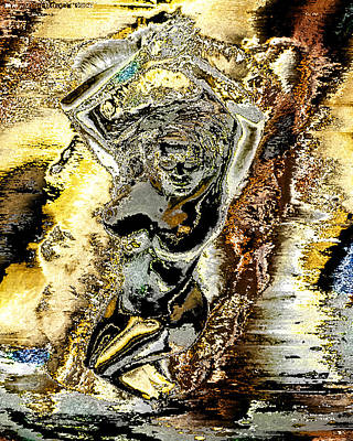 Venus Emerging From The Waves Art Print by Peter Lloyd