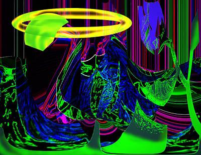 Venus Flowera Art Print by XERXEESE Color Schemes
