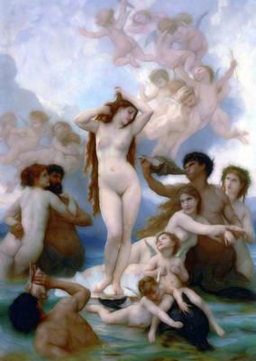 Mixed Media - Venus Goddess Of Love by Georgiana Romanovna