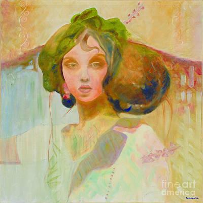 Painting - Venus by Krzis-Lorent Frederique