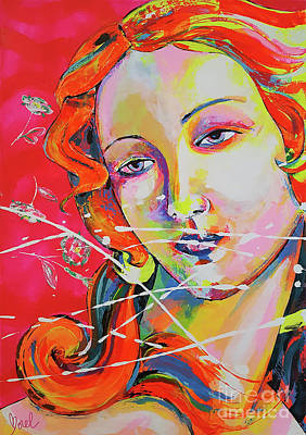 Painting - Venus by Marie-Armelle Borel