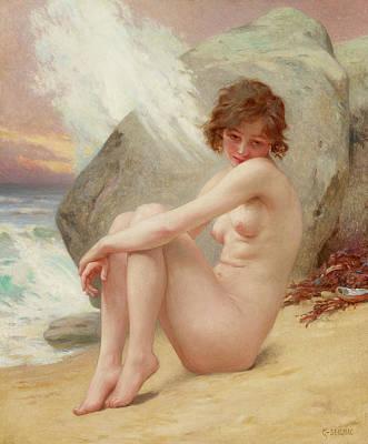 Penis Painting - Venus Marine by Guillaume Seignac