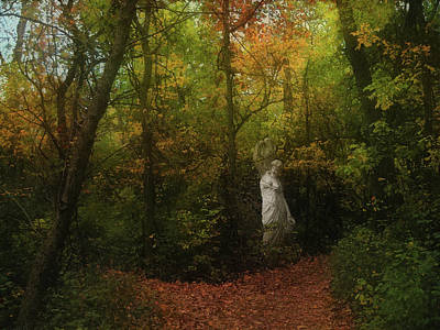 Photograph - Venus Of The Woodland by Cedric Hampton