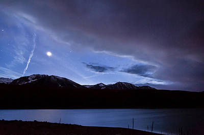 Photograph - Venus Over Grant Lake by Cat Connor