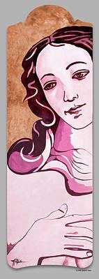 Painting - Venus Pop Classic by James R Hahn