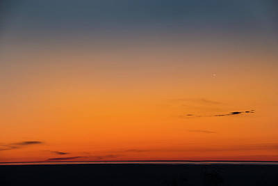 Photograph - Venus Sets Over The Bay by Onyonet  Photo Studios