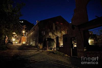 Photograph - Venus Setting In Jerome Az by Ron Chilston