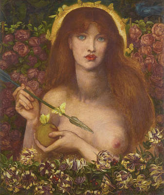 Venus Wall Art - Painting - Venus Verticordia by Dante Gabriel Rossetti