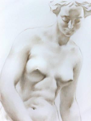 Art Print featuring the painting Venus1c by Valeriy Mavlo