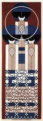 Mixed Media - Ver Sacrum V. Jahr - Xiii Ausstellung Der Vereinigung - Austrian Secession - Vintage Poster by Studio Grafiikka