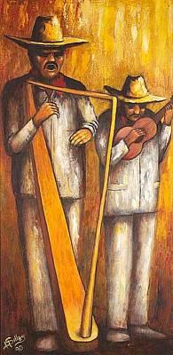 Painting - Vera Cruz by Herman Sillas