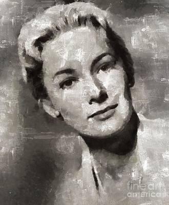 Vera Miles, Actress Art Print by Mary Bassett