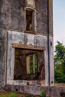 Photograph - Veranda Mary Allen Seminary Crockett Texas by Micah Goff