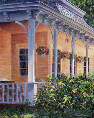 Painting - Veranda by Susan Savad