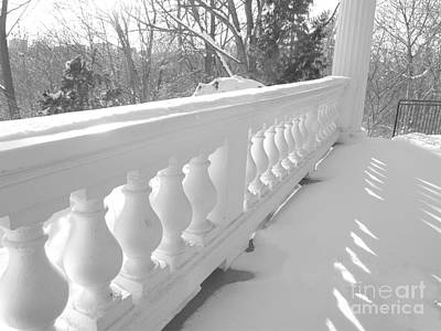 Photograph - Verandah At Cedar Ridge by Susan  Dimitrakopoulos