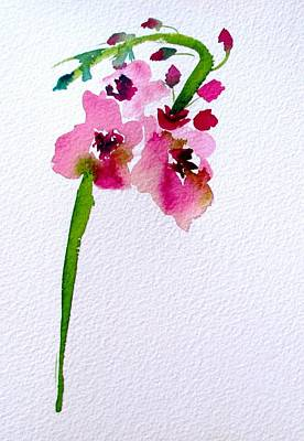 Painting - Verbascum by Sacha Grossel