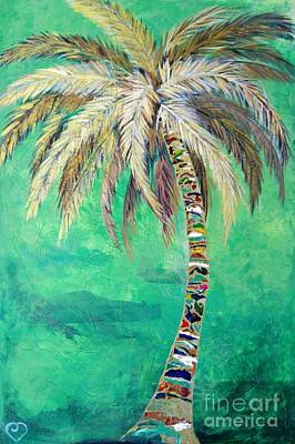 Painting - Verdant Palm by Kristen Abrahamson