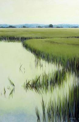 Painting - Verdant Spaces by Michel McNinch