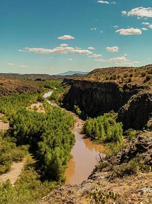 Verde Valley Photograph -  Verde Valley  Arizona by Louis Dallara