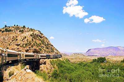 Verde Valley Train  Art Print