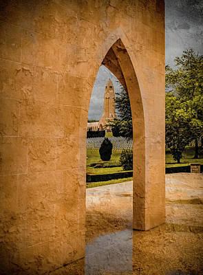 Photograph - Verdun, France - Muslim Memorial by Mark Forte