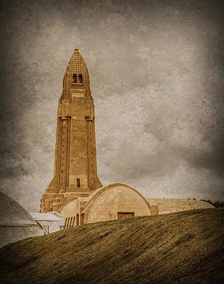 Photograph - Verdun, France - Ossuary Tower by Mark Forte
