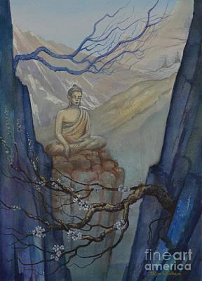 Tibetan Buddhism Painting - Verge Of Absolute by Yuliya Glavnaya