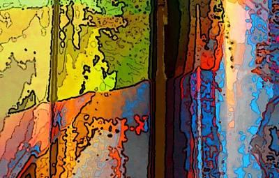 Painting - Vergezicht 1 by Arie Van Garderen