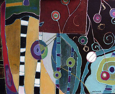 Subterranean Painting - Veris Tenebra by Lory MacDonald