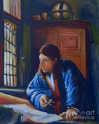 Vermeer's Coordinates Original by Vanessa Hadady BFA MA