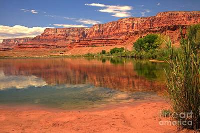 Photograph - Vermilion Cliffs In The Colorado by Adam Jewell