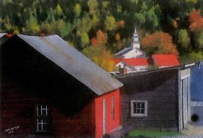 Pastel - Vermont Again by John Brisson