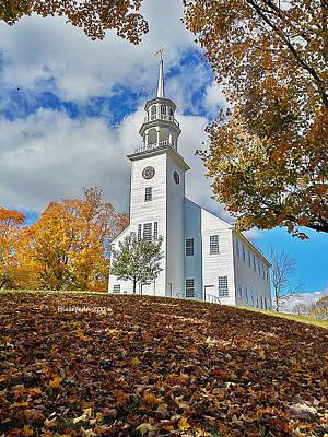 Fall Foliage Photograph - Vermont Autumn by April Bielefeldt