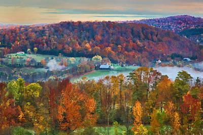 Wall Art - Photograph - Vermont Autumn Countryside by Martin Belan