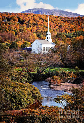 Photograph - Vermont Autumn by Scott Kemper