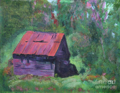 Painting - Vermont Barn by Donna Walsh