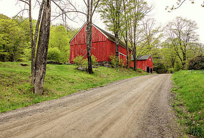 Photograph - Vermont Country Road by Gordon Ripley