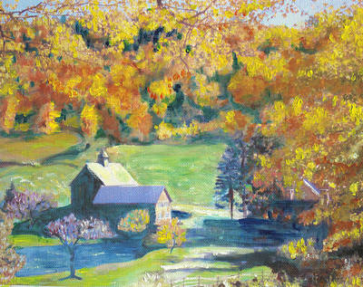 Painting - Vermont Farm by Lyn Vic