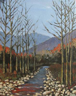Painting - Vermont Landscape by Gene Foust